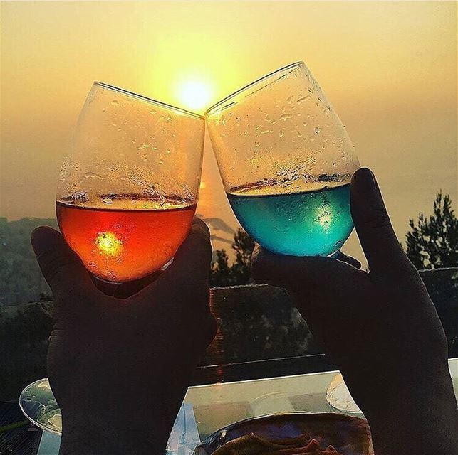 Postcards  FromTheTop 🍷📷 @haalamerheb 📍 @theterrace_lebanon ... (The Terrace - Restaurant & Bar Lounge)